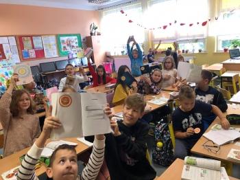 Nasi mistrzowie tabliczki mnożenia-uczniowie klasy 4c