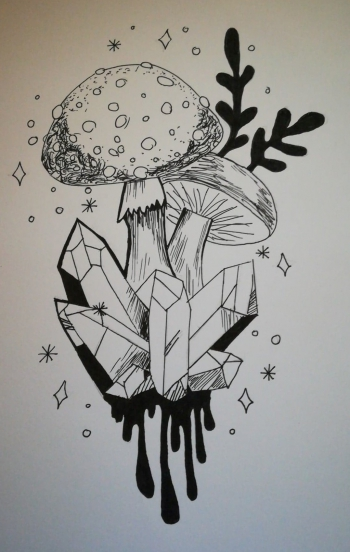 Filip Dzieciuch - muchomor z kryształami