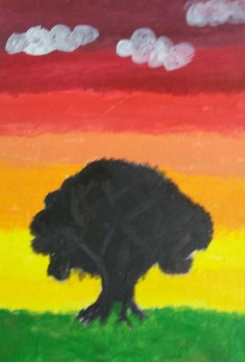 Weronika Majda - magiczne drzewo