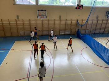 Klasy 7-8- rozgrywki w koszykówkę cz.3