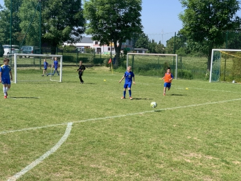 Mecz SP Rąbień- SP Bełdów