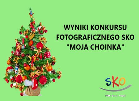 """Wyniki konkursu fotograficznego SKO """"Moja choinka"""" 2020/2021"""